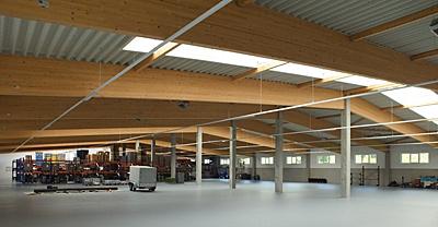 Juni 2013 – Neubau einer weiteren großen Fertigungshalle