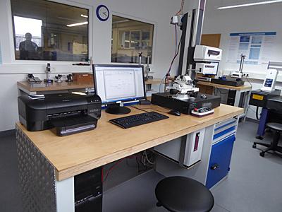 Mai 2015 – Neuer Messraum in Betrieb genommen