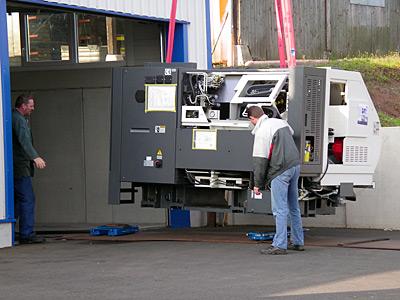 September 2010 – Anschaffung einer neuen Nakamura Drehmaschine
